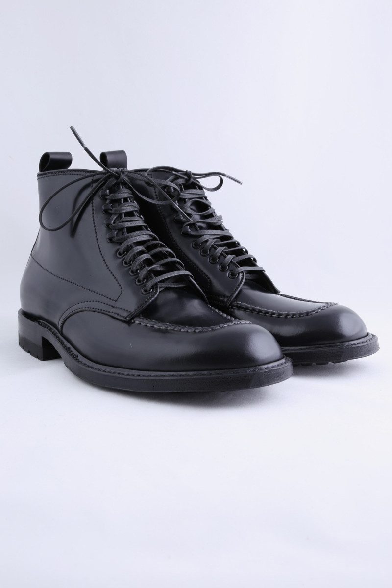 40509hc indy boots cordovan Black