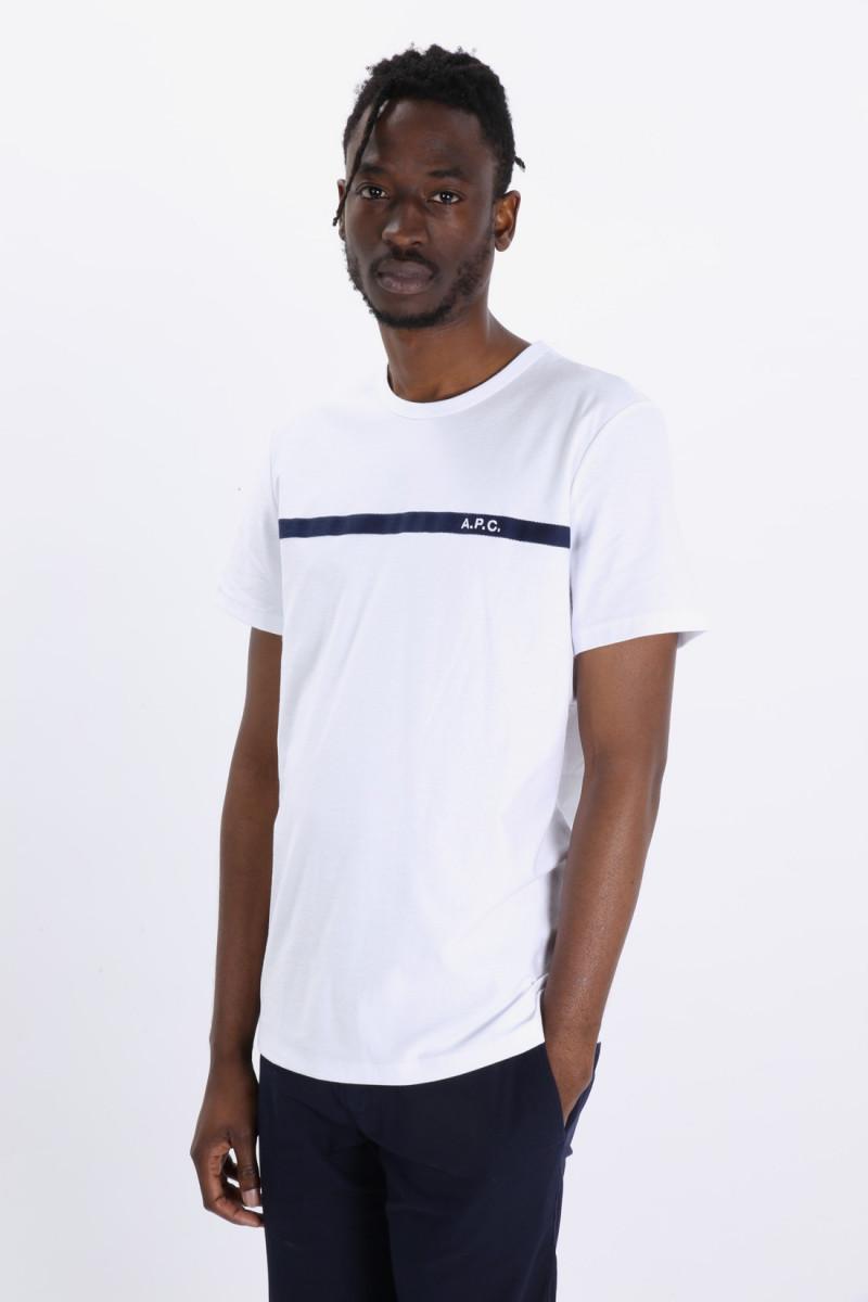 T shirt yukata Blanc