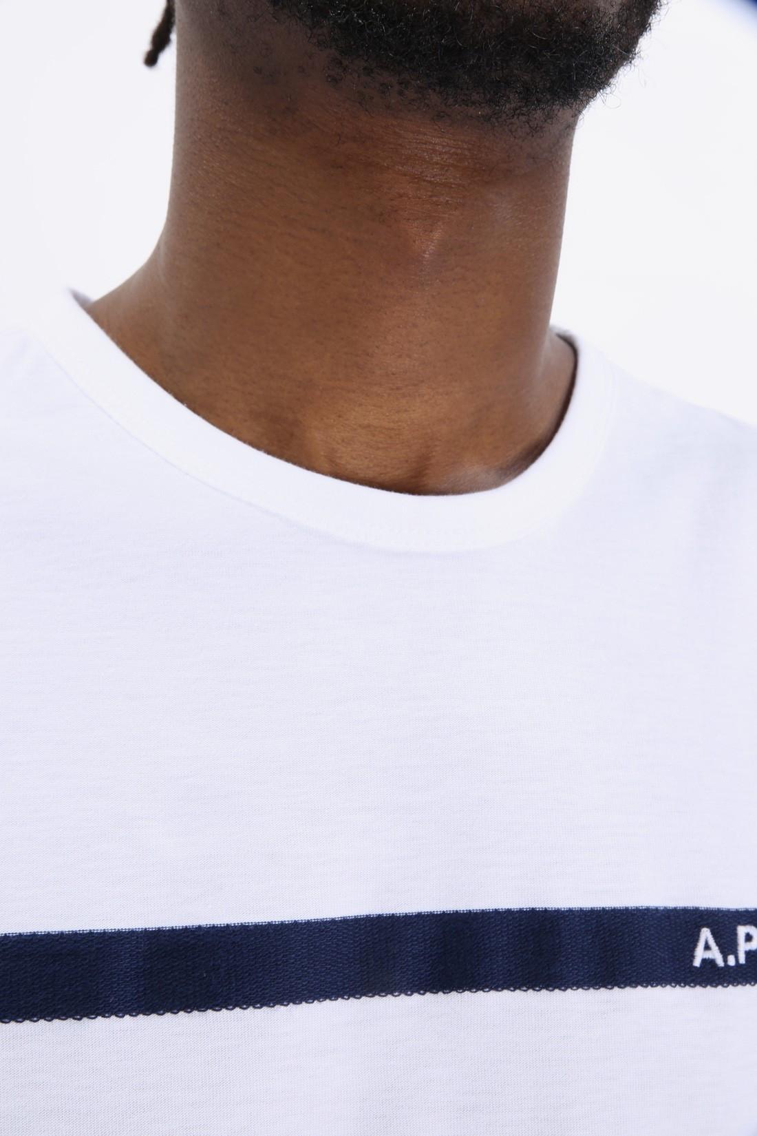 A.P.C. / T shirt yukata Blanc
