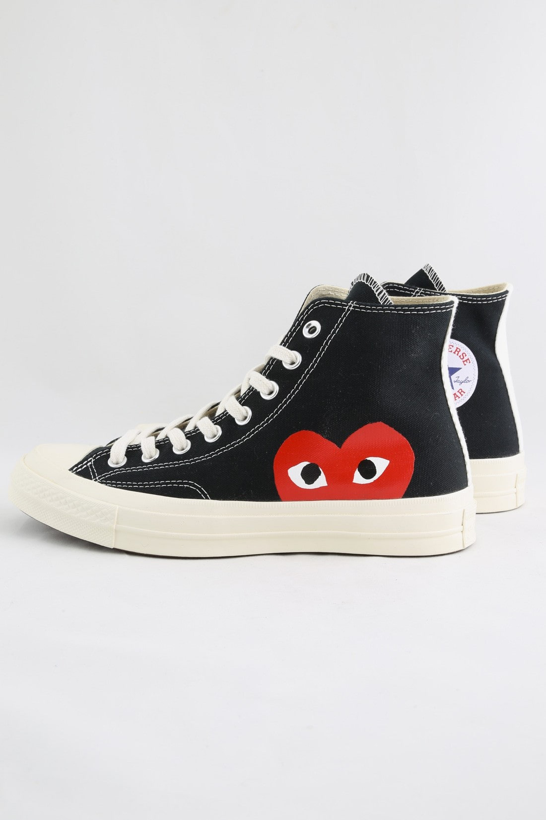 Play new chuck taylor high Black