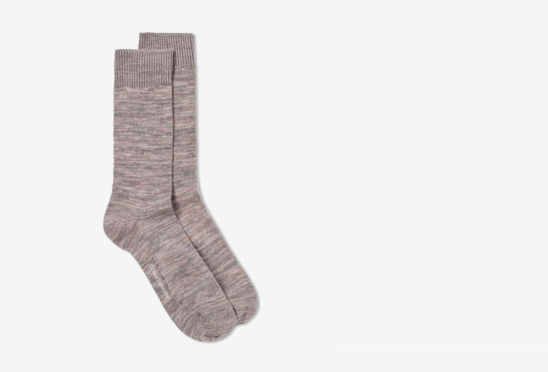 OLIVER SPENCER / Miller socks dodd Pink