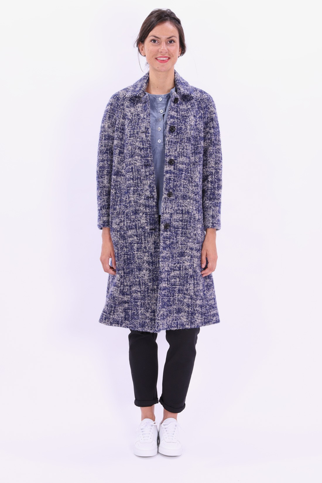 BELLEROSE FOR WOMAN / Mushy coat Combo 1