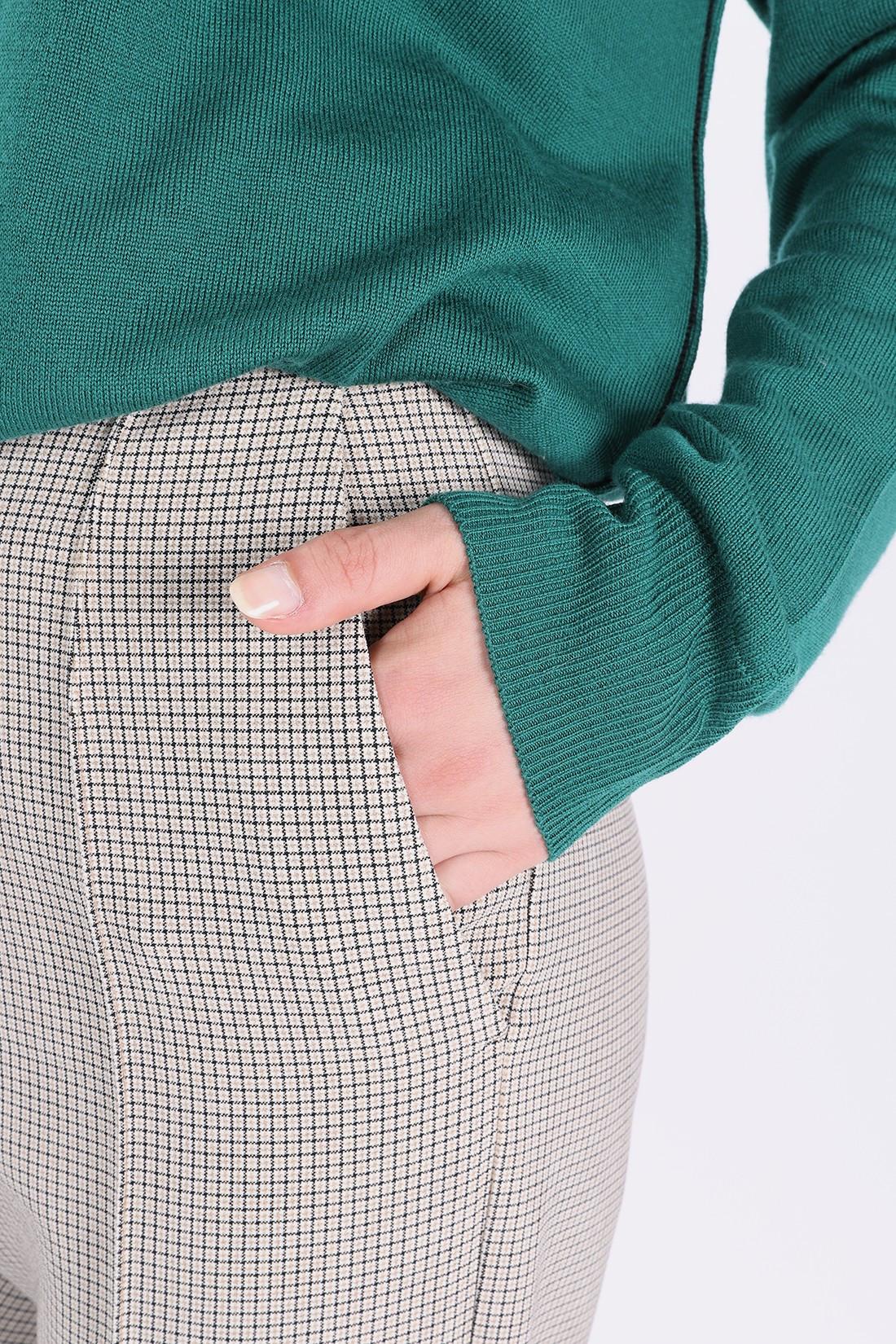 MM6 MAISON MARGIELA FOR WOMAN / S52ka0167 formal trouser Micro check