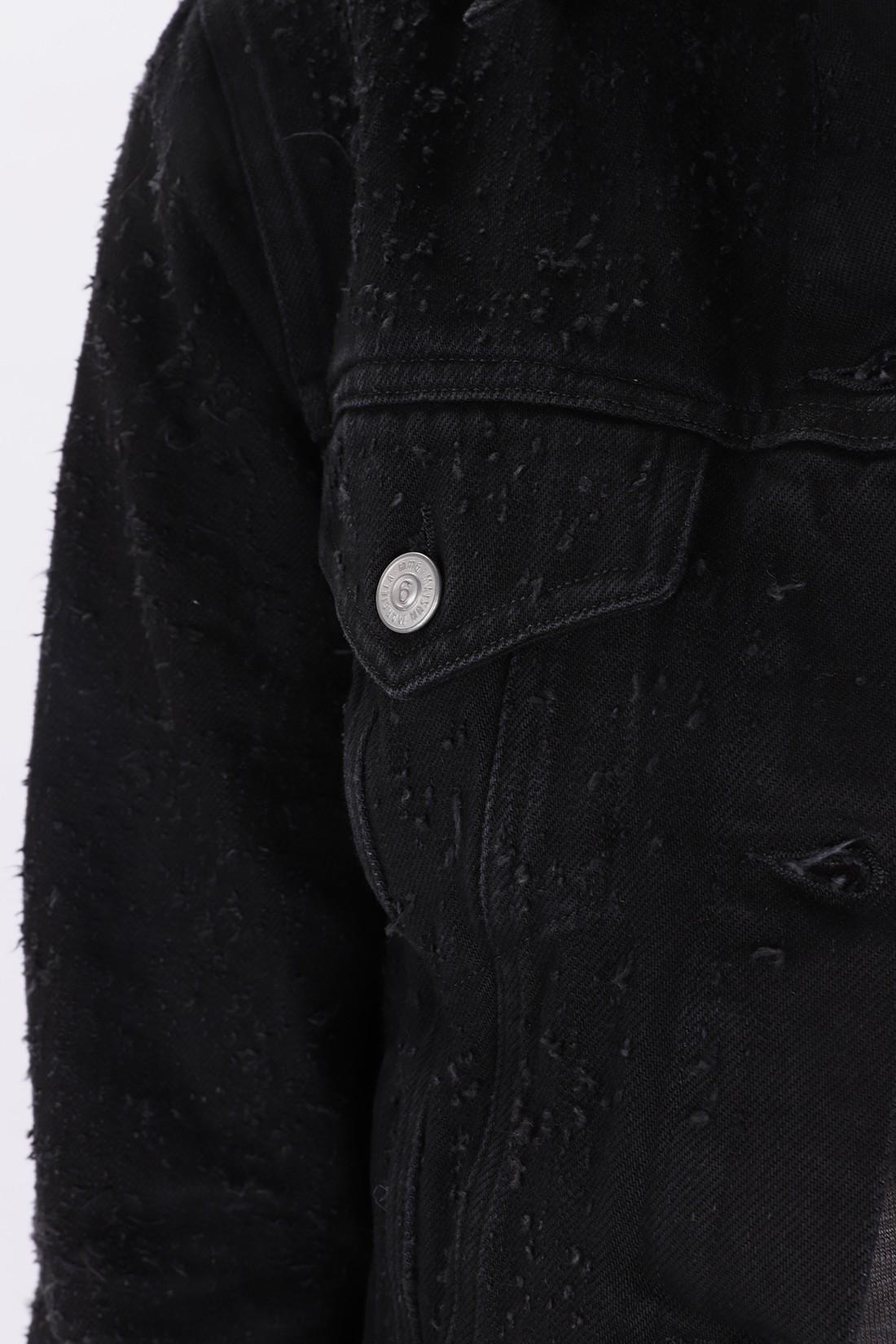 MM6 MAISON MARGIELA / S32am0290 denim jacket Black
