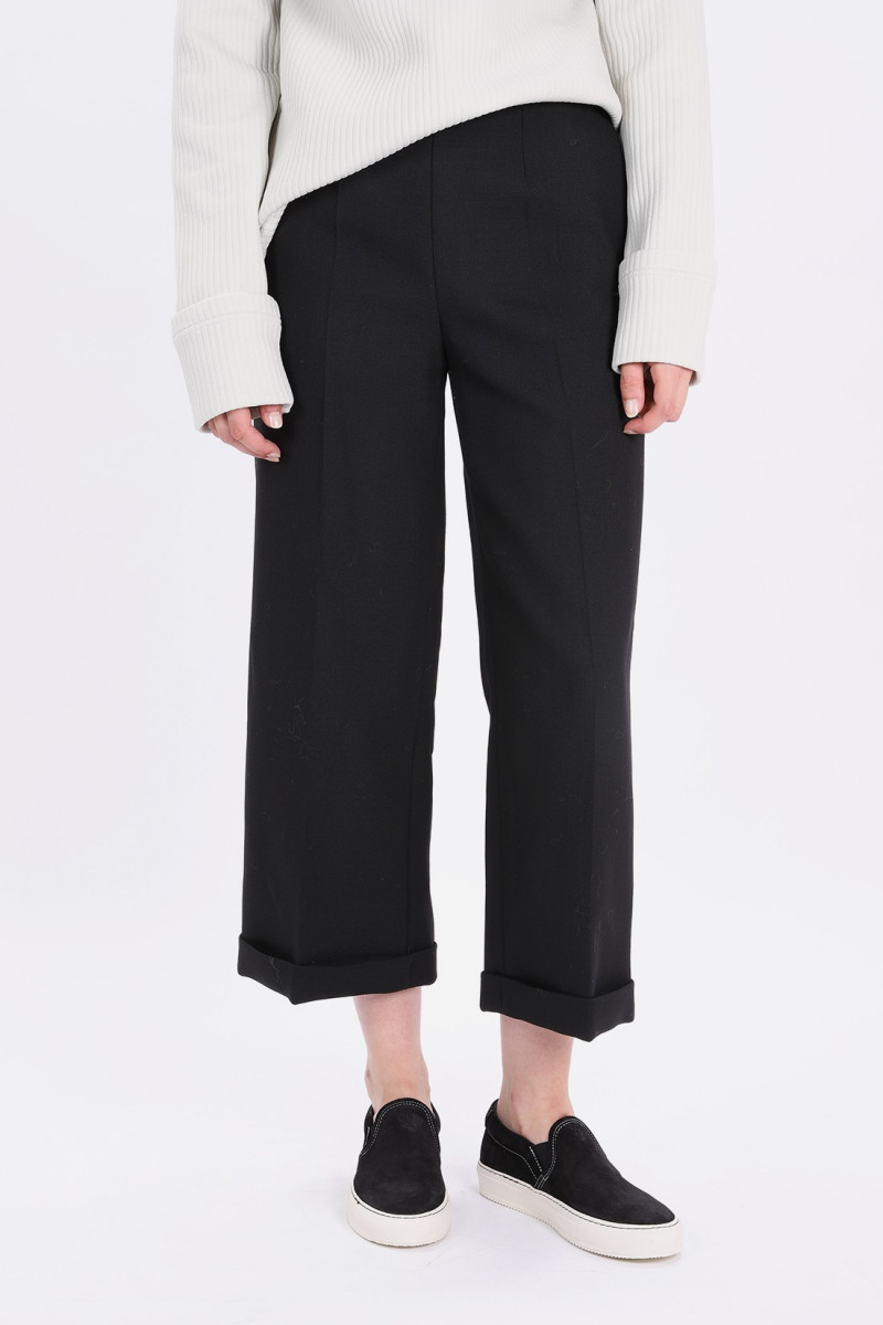 S32ka0542 wide leg trouser Black