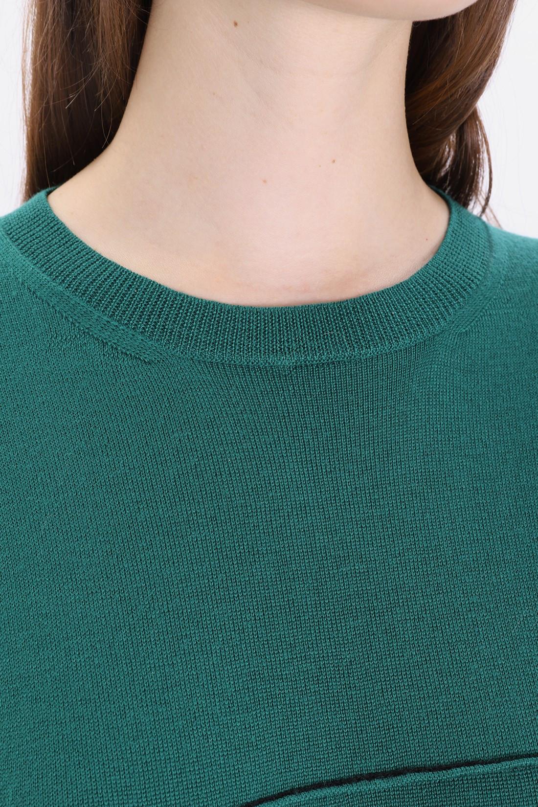 MM6 MAISON MARGIELA FOR WOMAN / S32ha0507 oversized pull-over Green