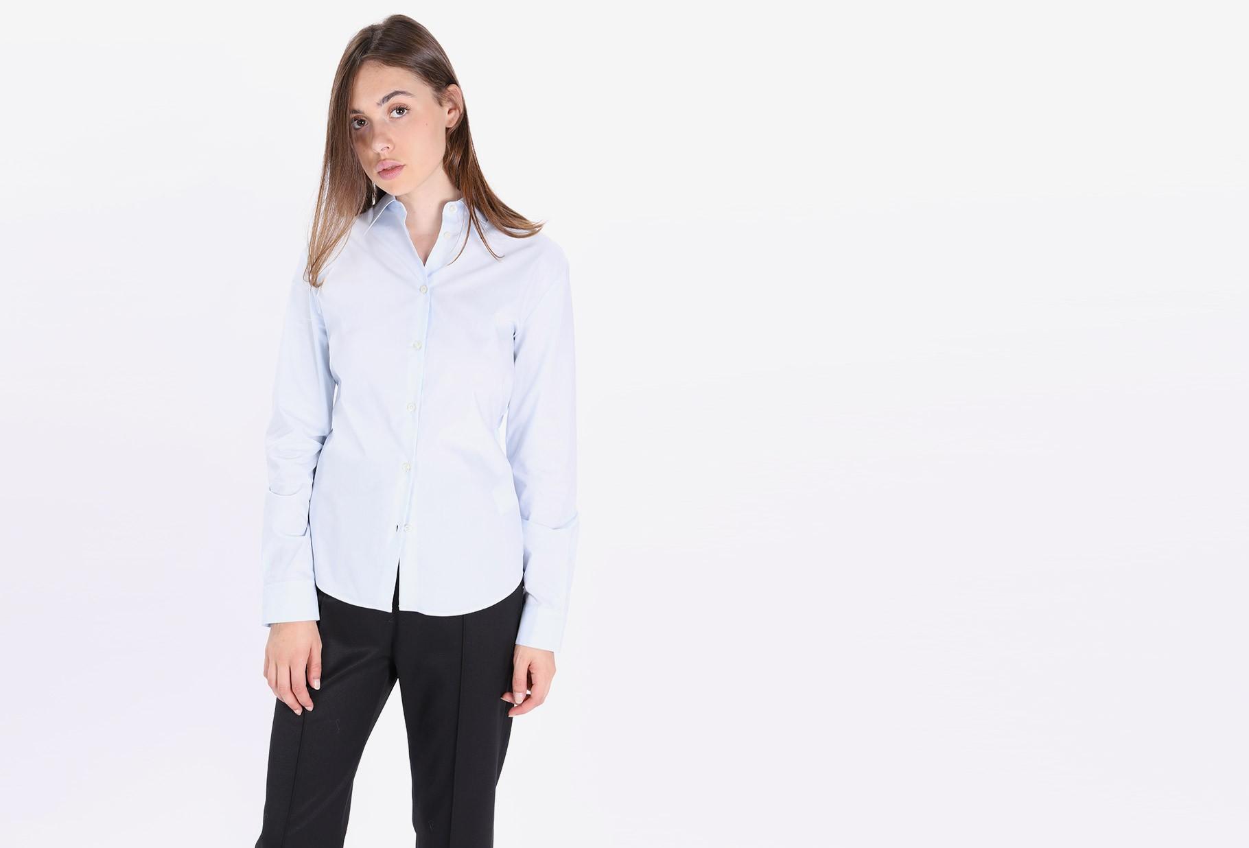 MM6 MAISON MARGIELA / S52dl0069 not classic shirt Blue
