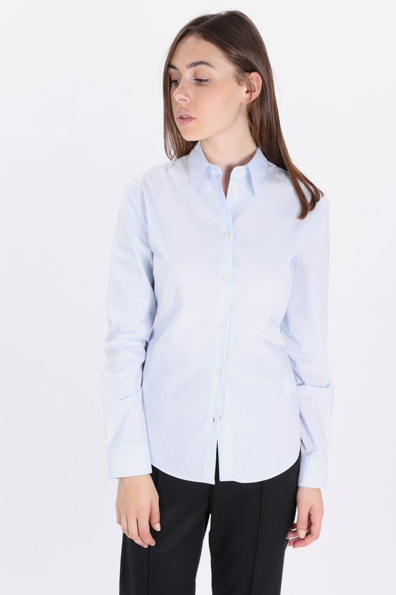 S52dl0069 not classic shirt Blue