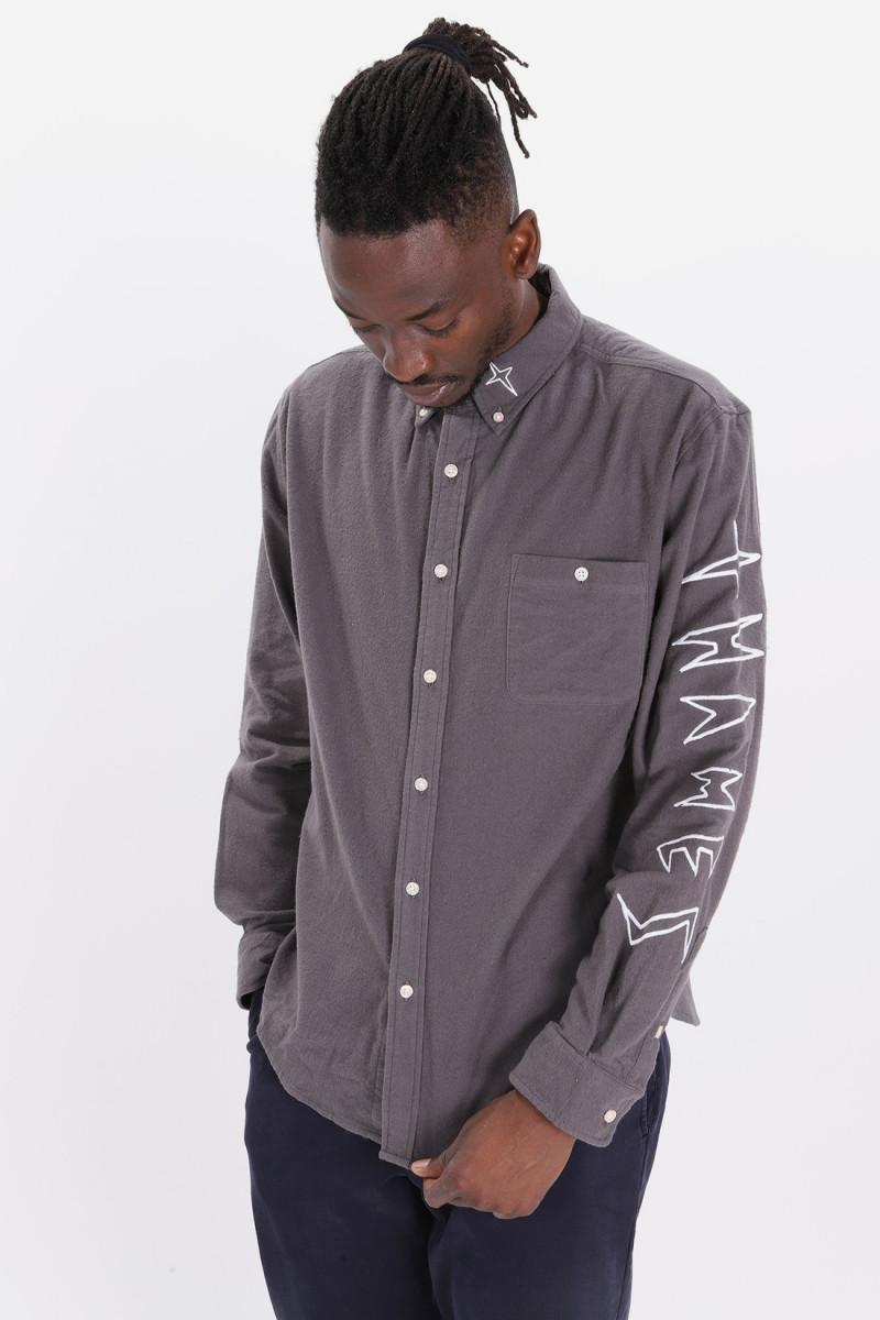 Espy shirt wool Grey