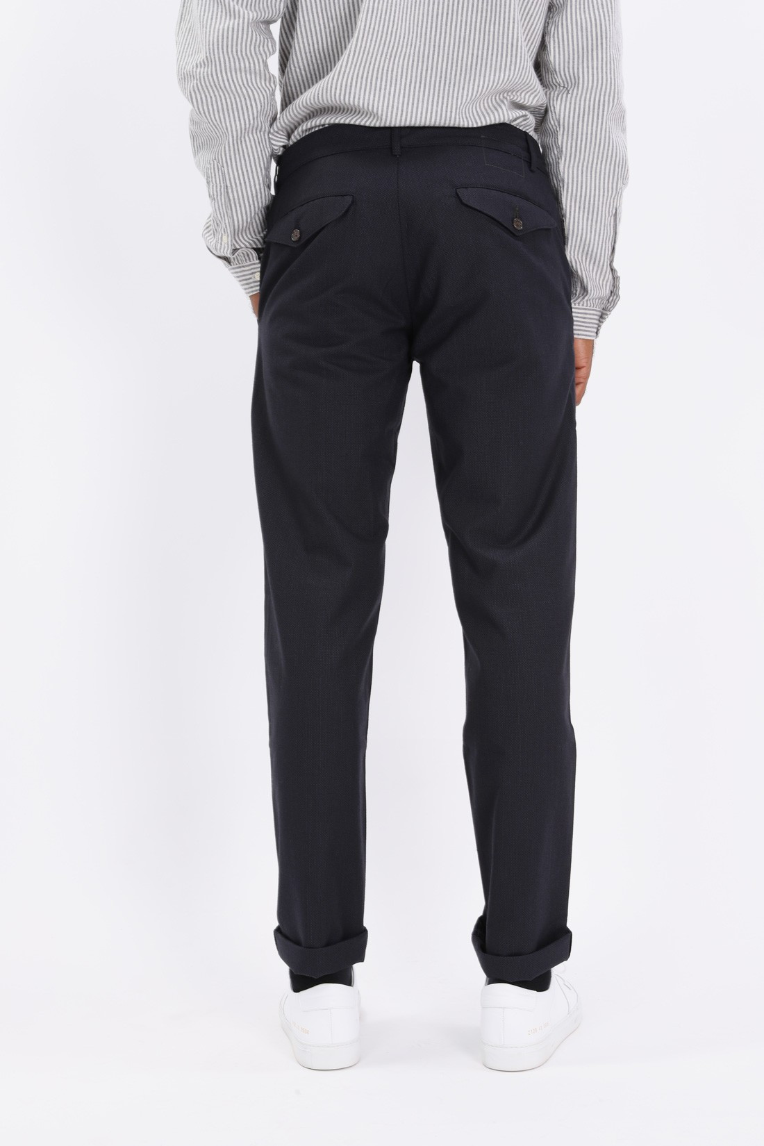 UNIVERSAL WORKS / Aston pant cotton wool mix Charcoal