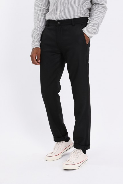 Aston pant flannel Black