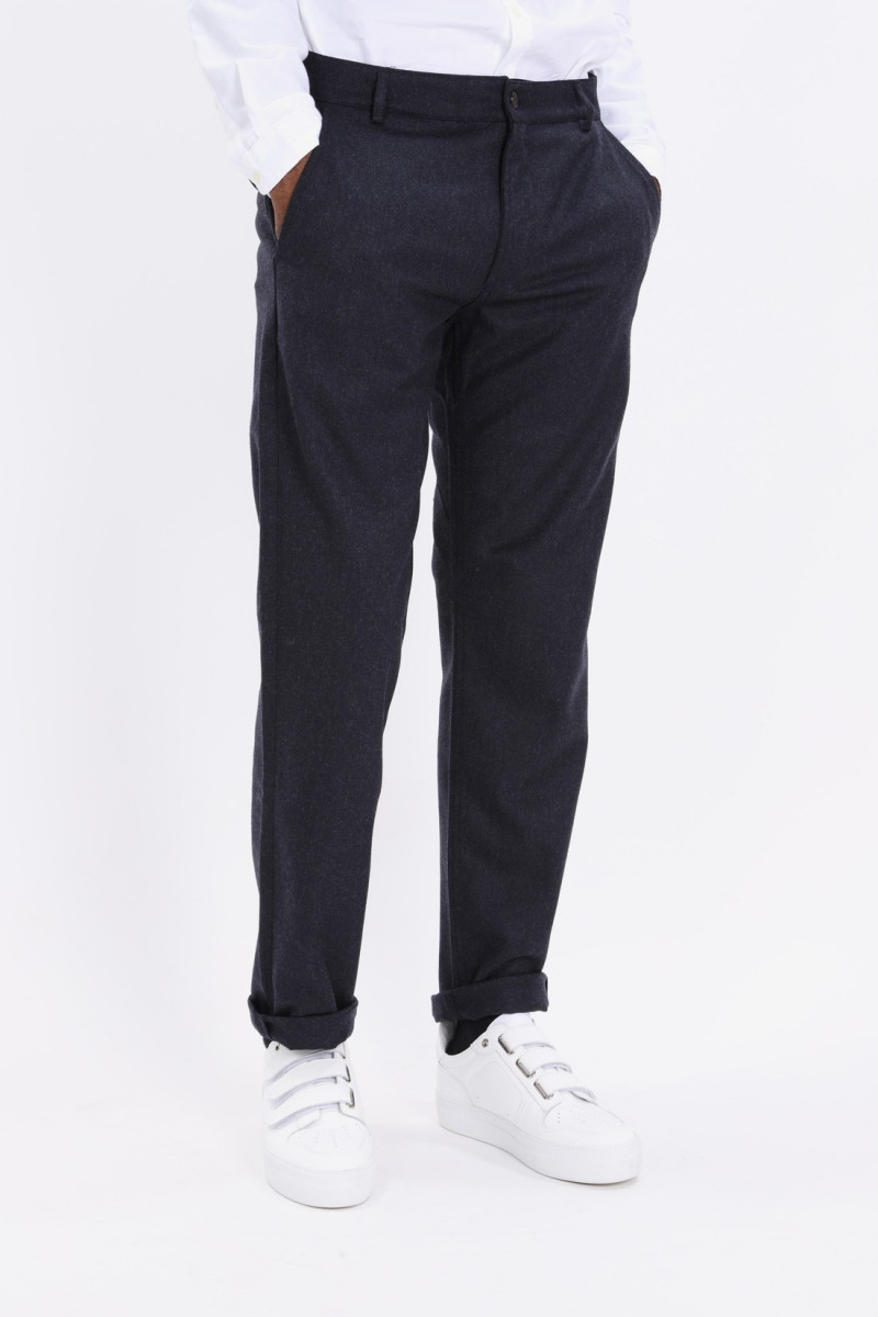 Aston pant flannel Navy