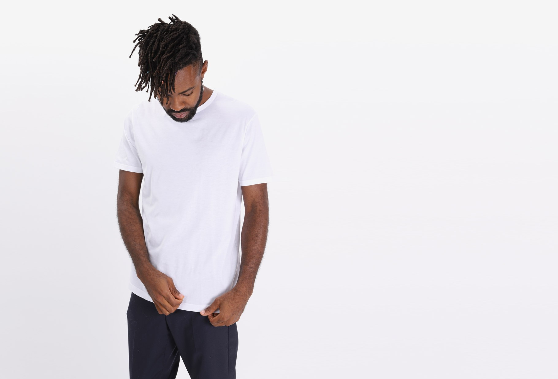 SUNSPEL / Short sleeve crewneck t-shirt White