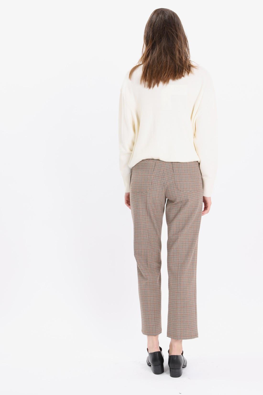 A.P.C. FOR WOMAN / Pantalon cece Beige fonce