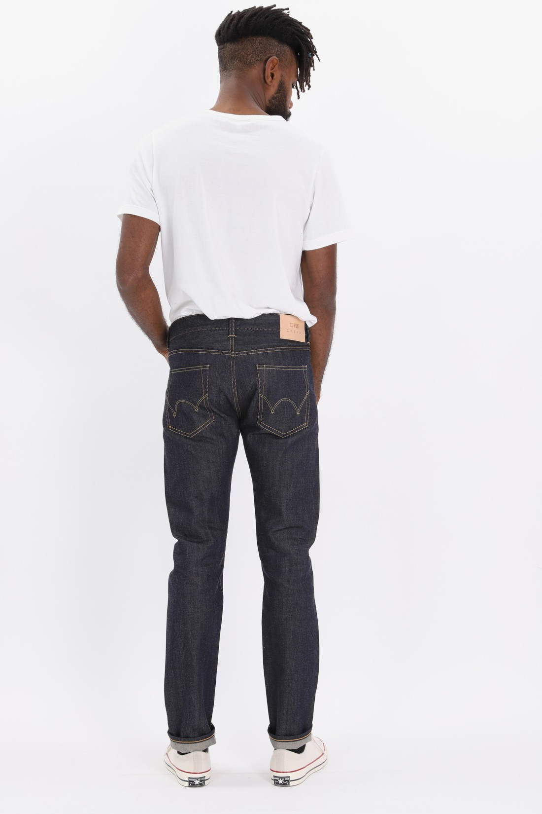 EDWIN / Ed-80 63 rainbow selvage Unwashed
