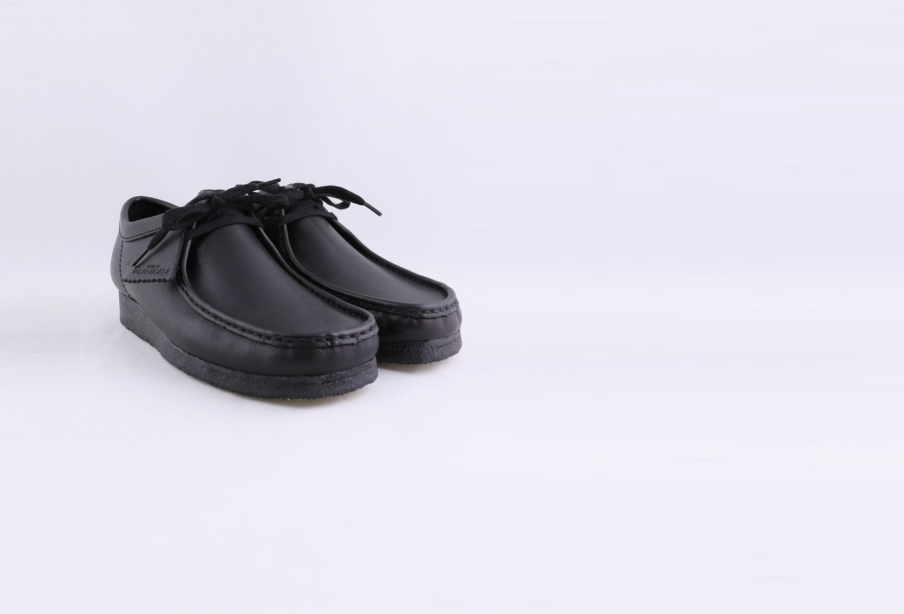 CLARKS ORIGINALS / Wallabee Black leather