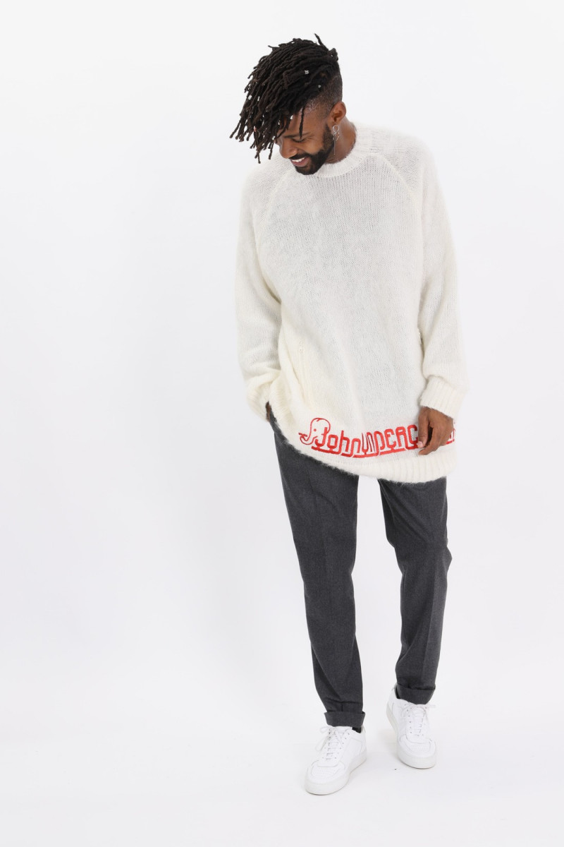 Knit Off white