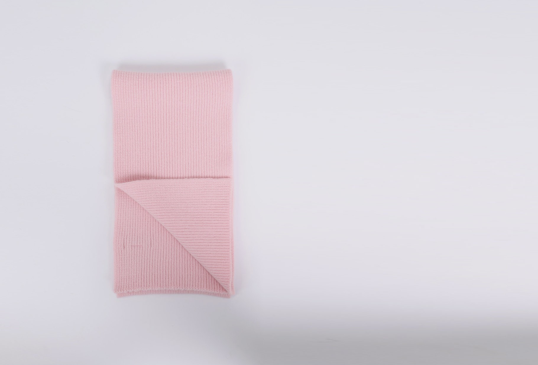 MACKIE / Geelongora ribbed scarf Candy floss
