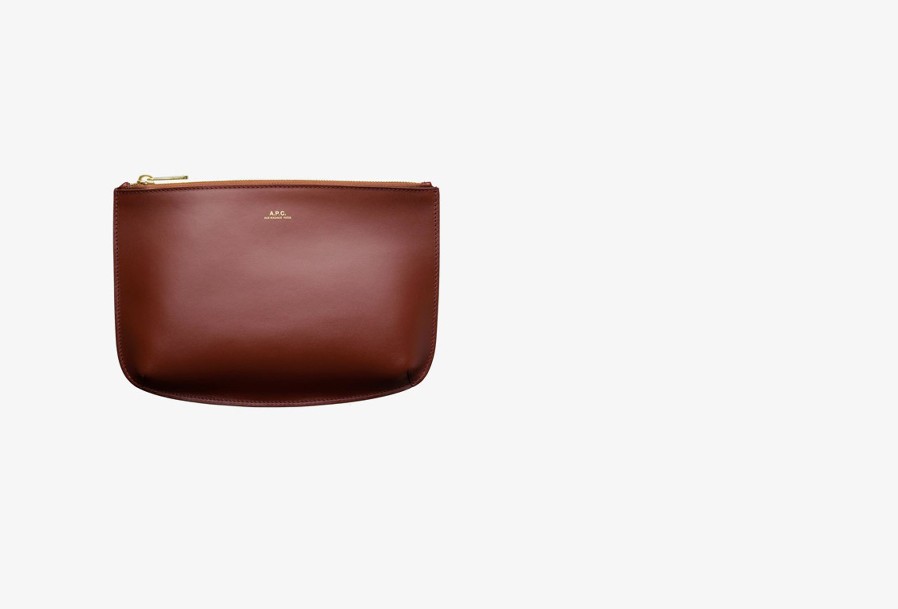 A.P.C. FOR WOMAN / Pochette sarah Terracotta