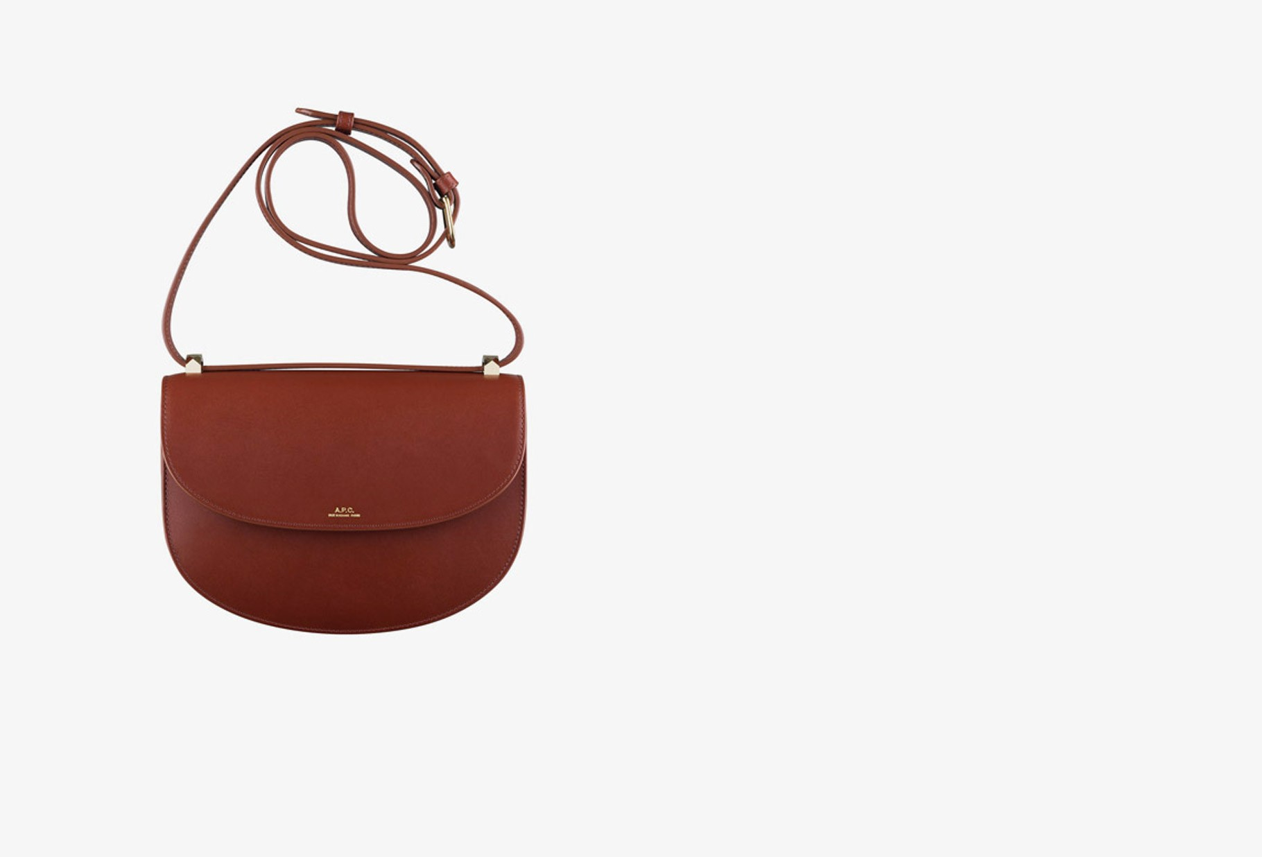 A.P.C. FOR WOMAN / Sac geneve Terracotta