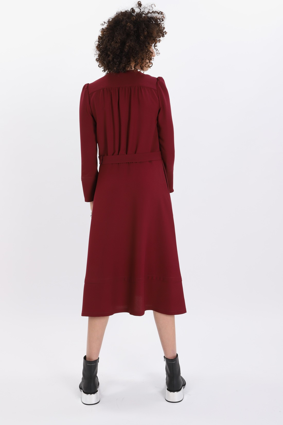 ac8ec7af24b A.p.c. for woman Robe bing Bordeaux - GRADUATE STORE