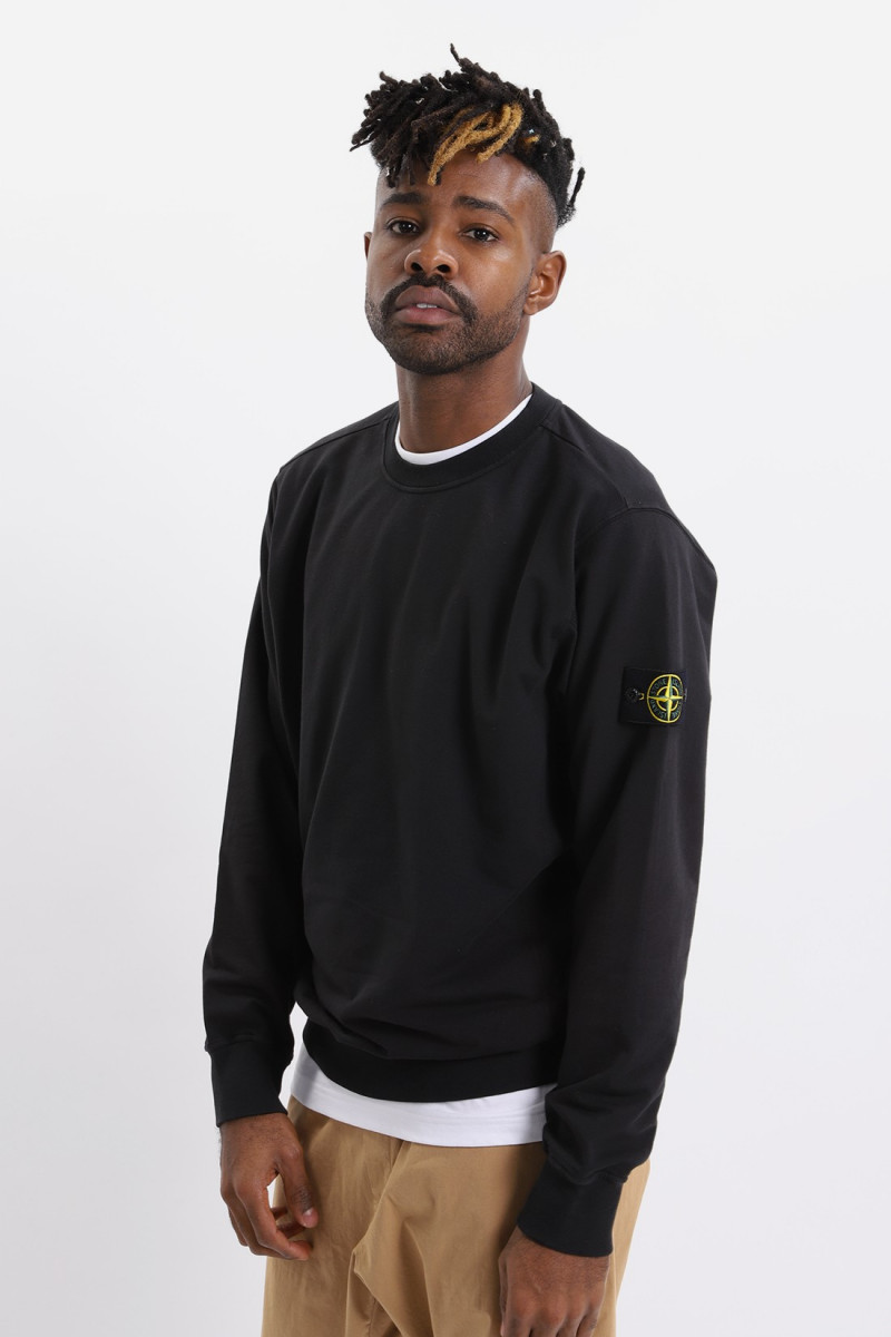 61452 sweat shirt v0029 Nero