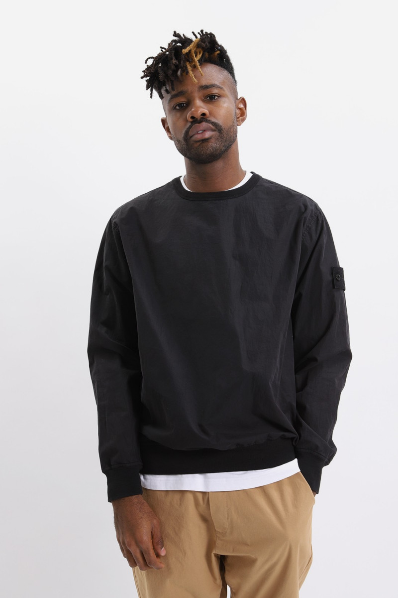 659f2 sweat shirt v0029 Nero