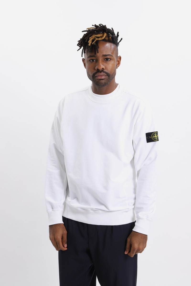 61452 sweat shirt v0001 Bianco