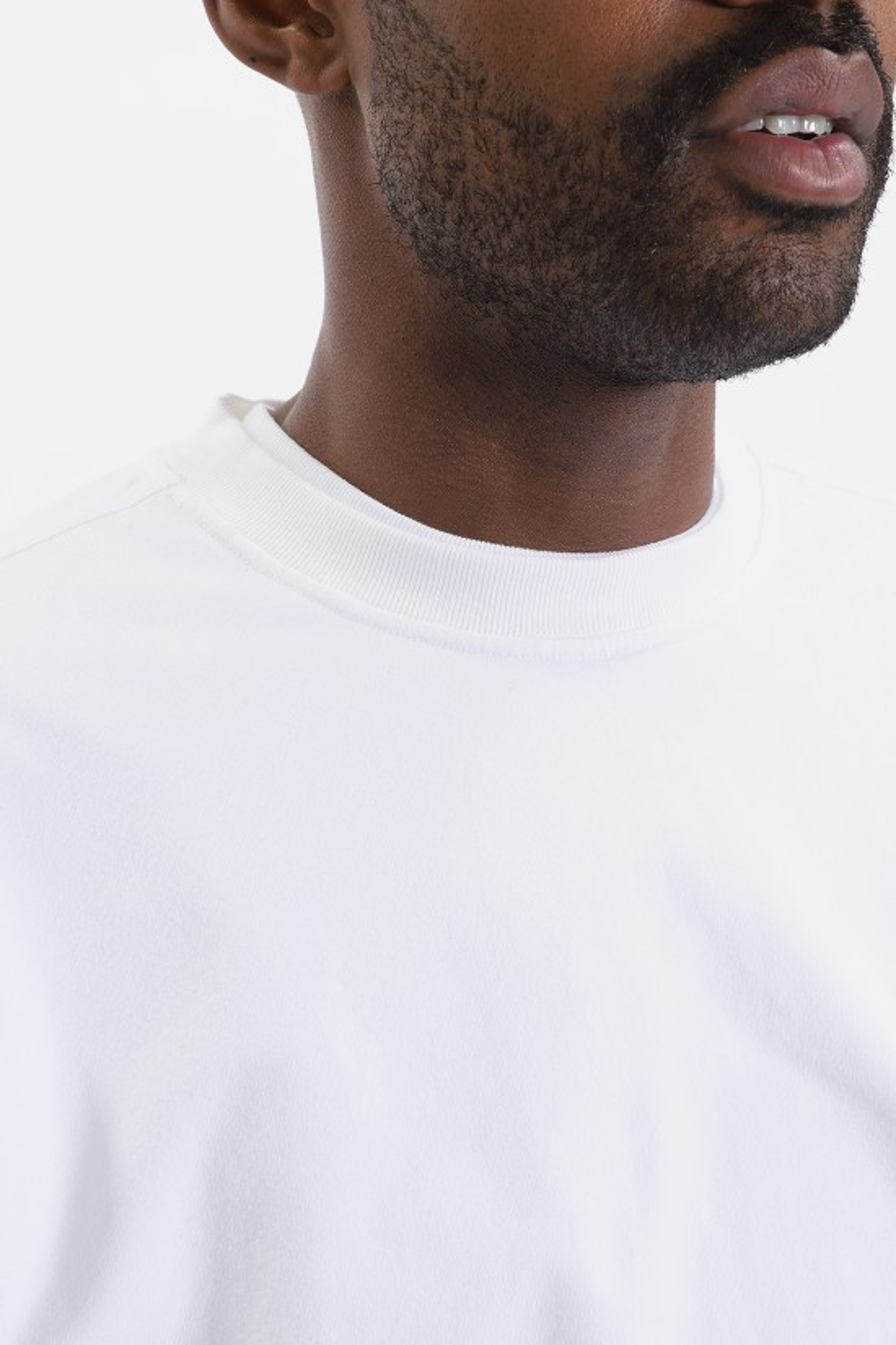 504a16304355 Stone island 61452 sweat shirt v0001 Bianco - GRADUATE STORE