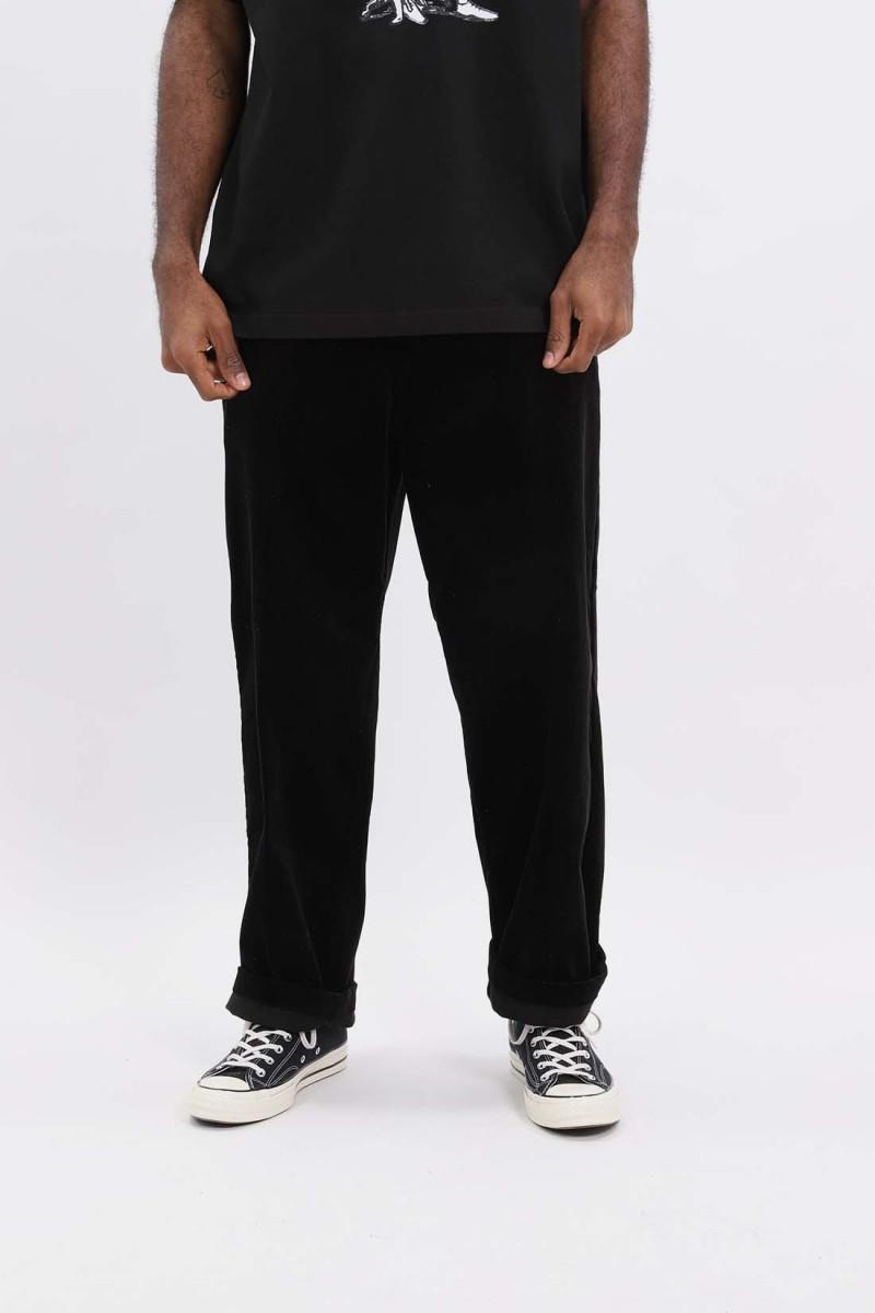 Corduroy pants Black