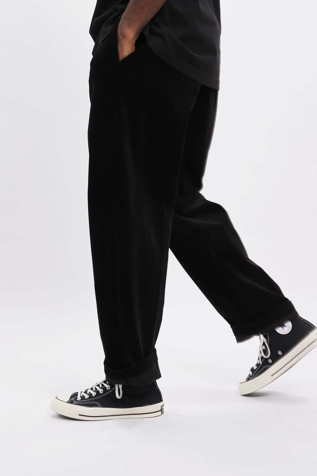/ Corduroy pants Black