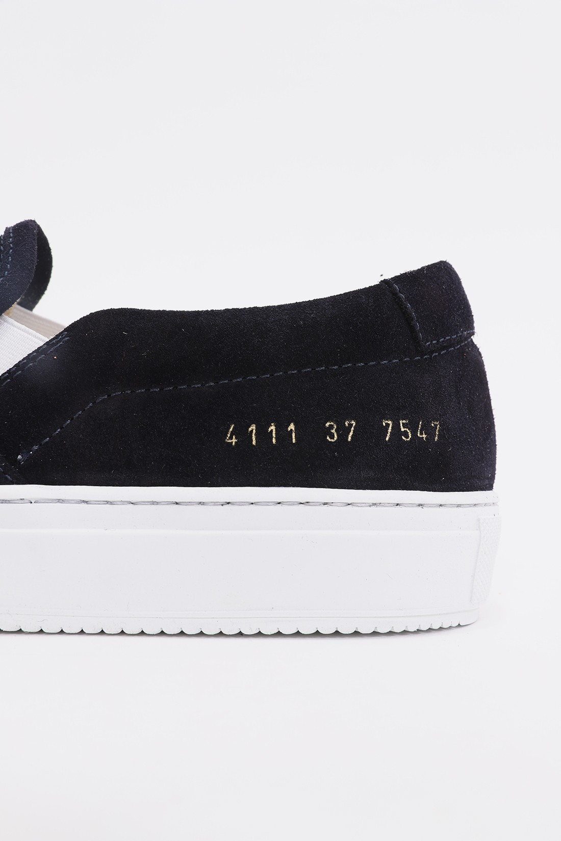 COMMON PROJECTS FOR WOMAN / Slip on in suede 4111 Black 7547