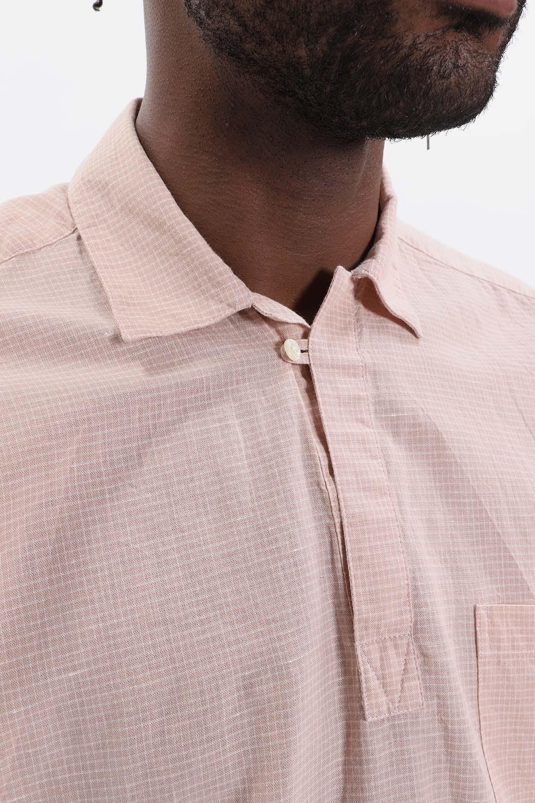 OLIVER SPENCER / Yarmouth shirt Pink