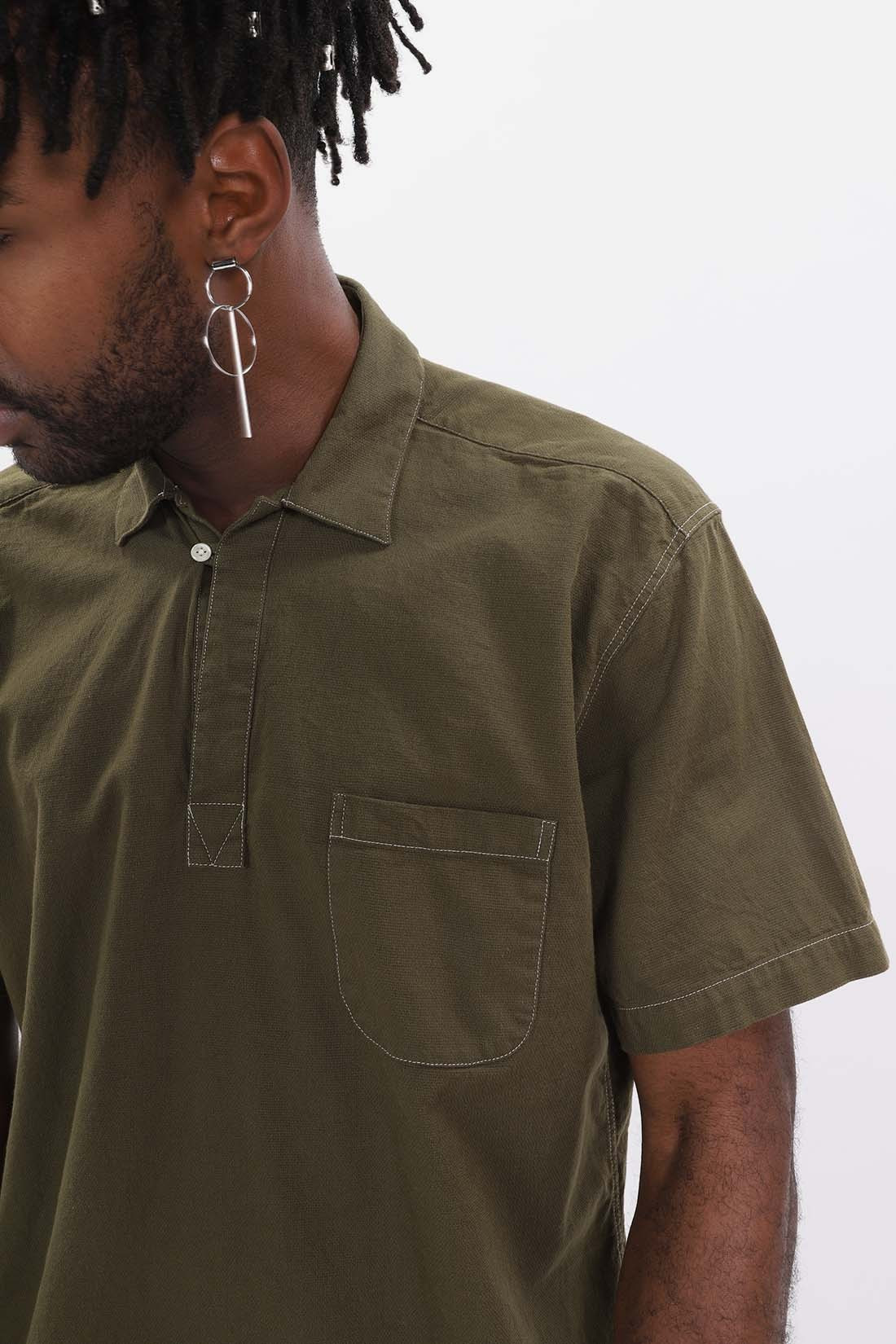 OLIVER SPENCER / Yarmouth shirt Green
