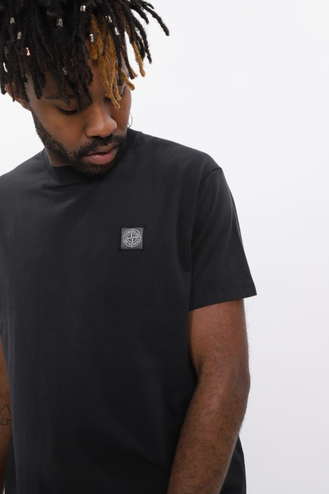 STONE ISLAND / 21657 t shirt v0029 Nero