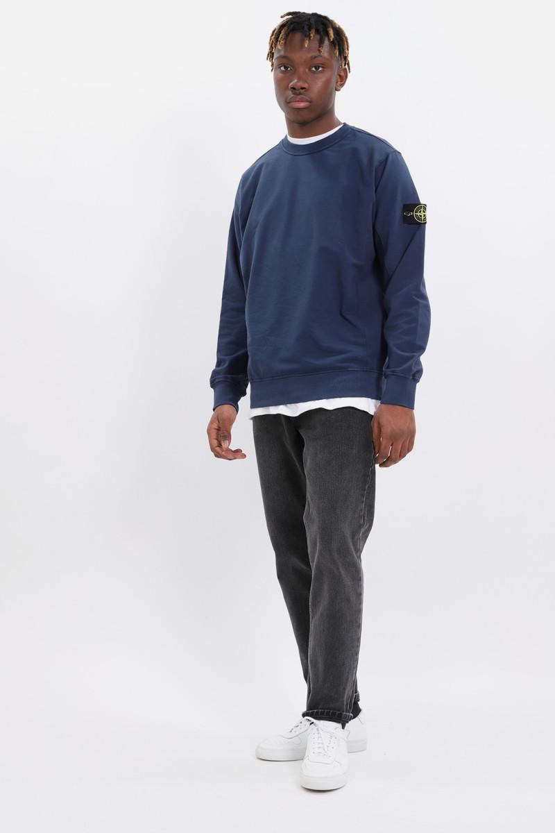 61452 sweat shirt v0028 Bleu marine