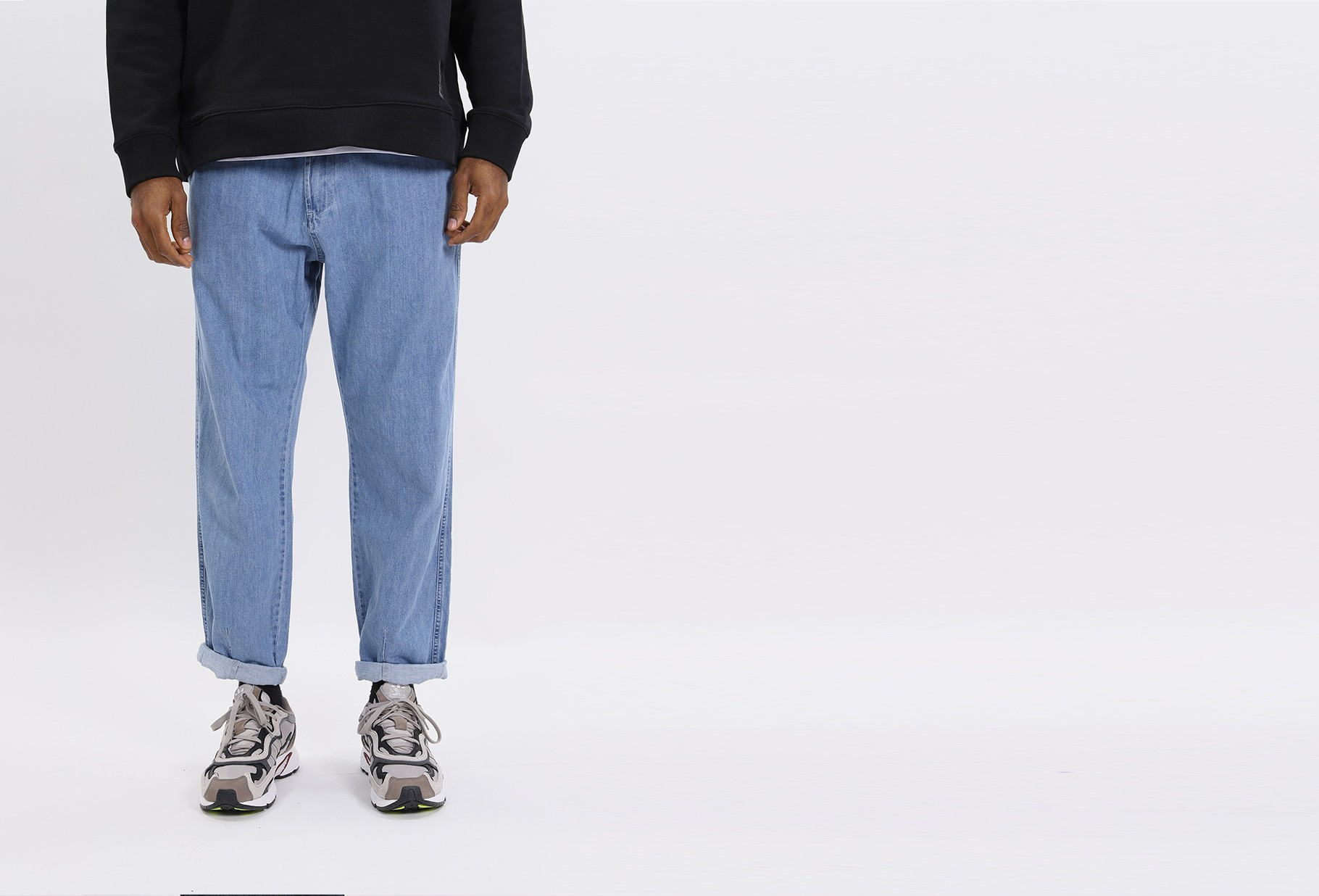 UNIVERSAL WORKS / Track trouser canvas Indigo