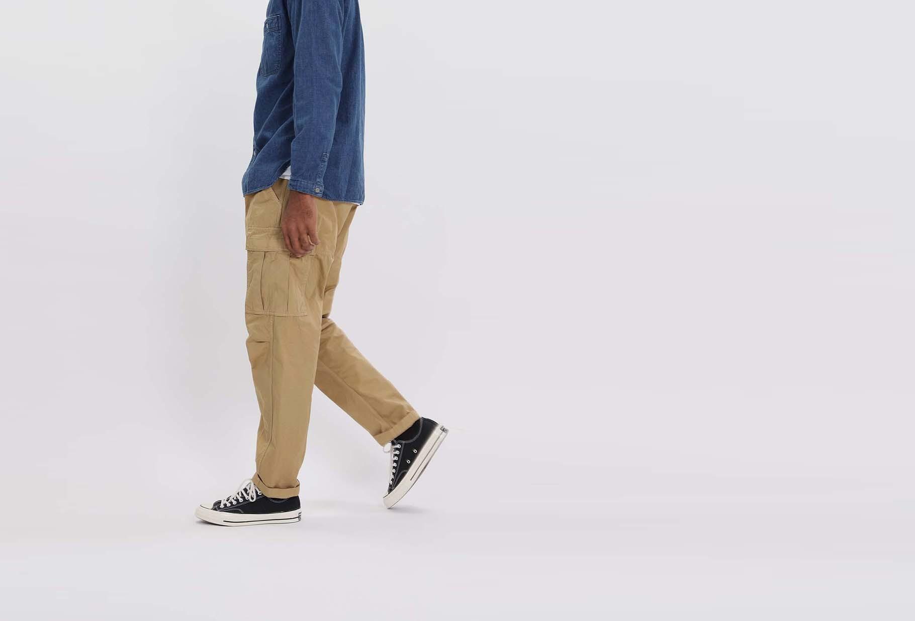 ORSLOW / Easy cargo pant Khaki
