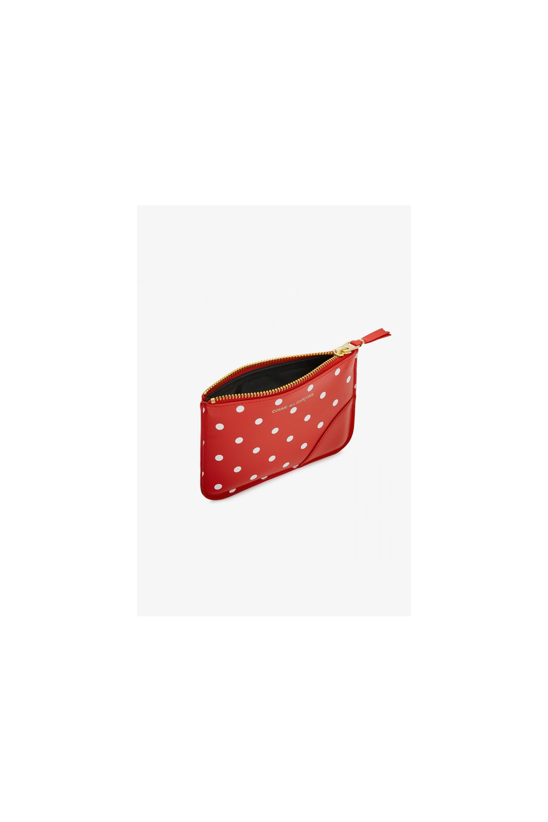 CDG WALLETS FOR WOMAN / Cdg dot leather sa8100 Red