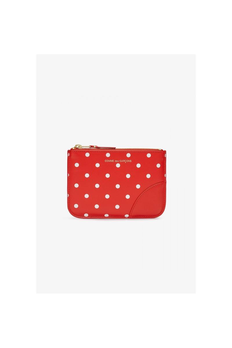 Cdg dot leather sa8100 Red