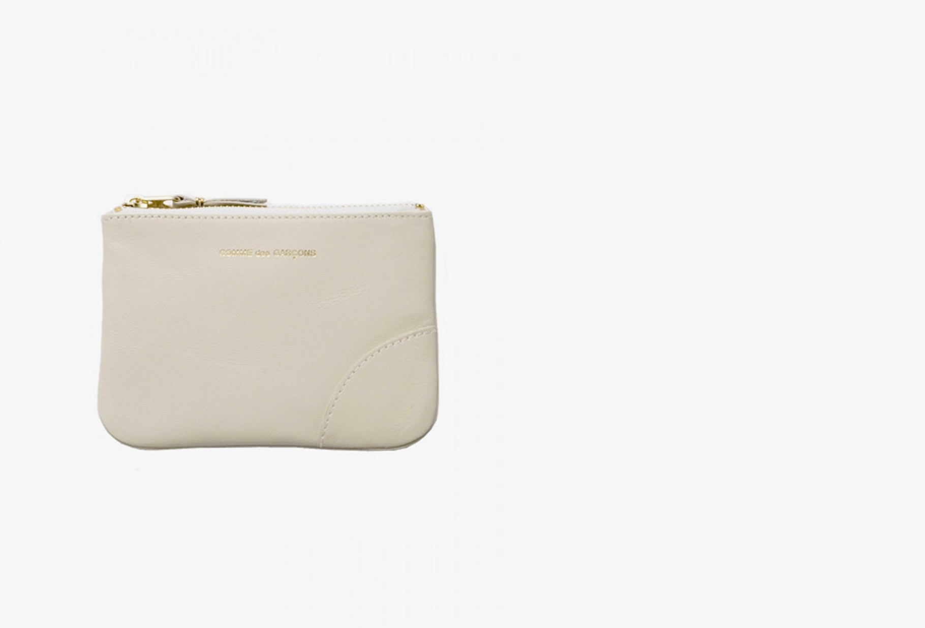 CDG WALLETS FOR WOMAN / Cdg classic leather sa8100 Off white