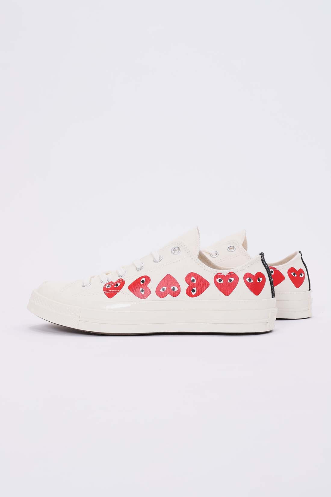 Play multi heart low White