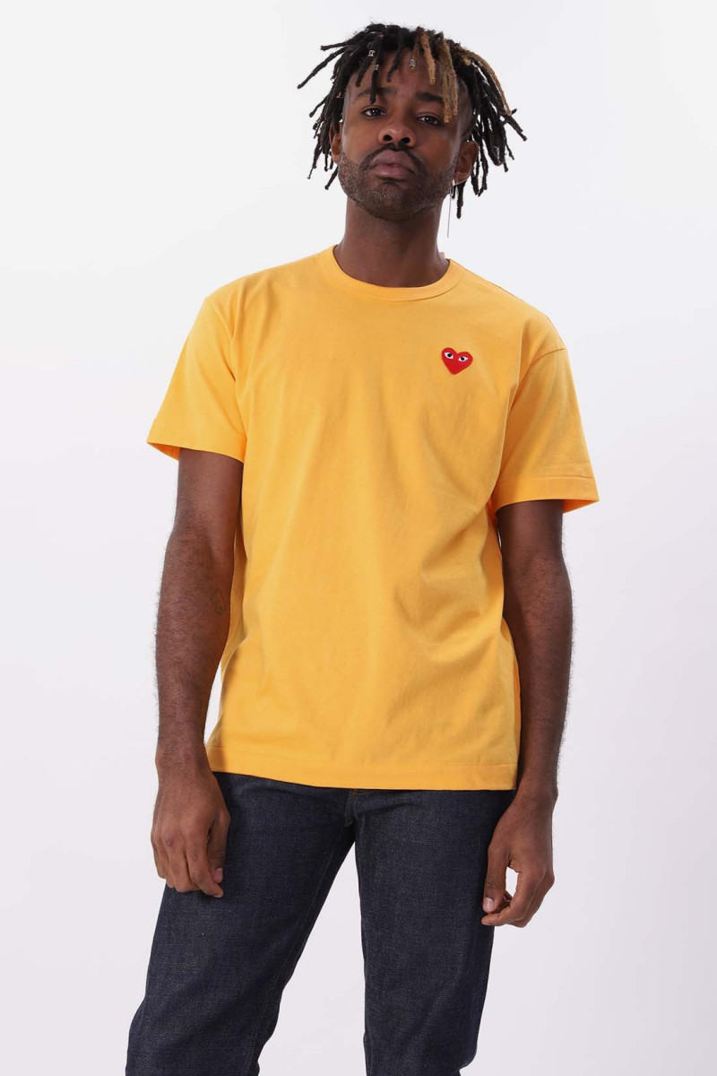 Red play t-shirt Yellow