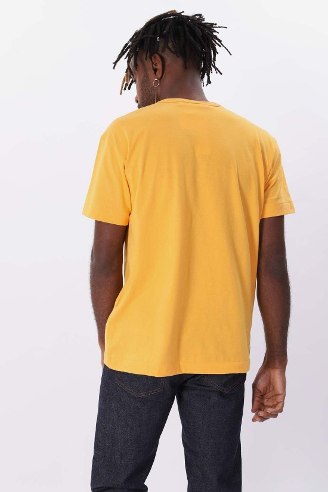 COMME DES GARÇONS PLAY / Red play t-shirt Yellow