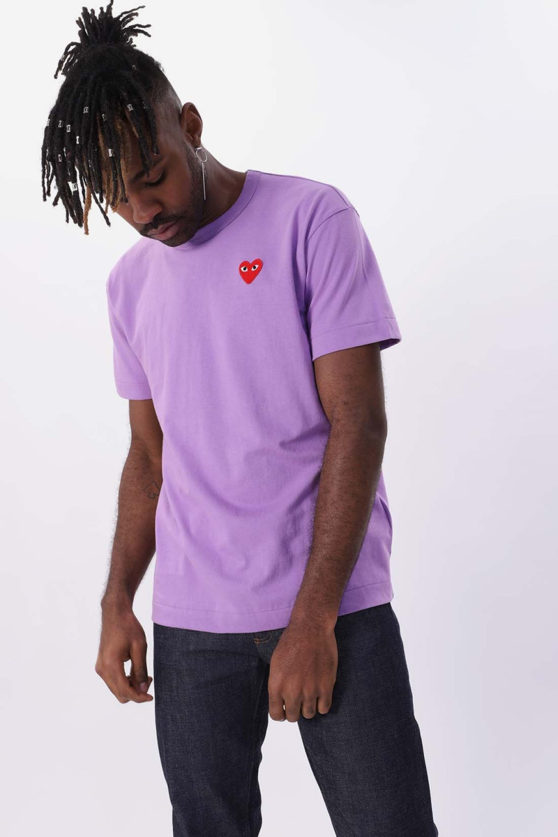 Red play t-shirt Purple