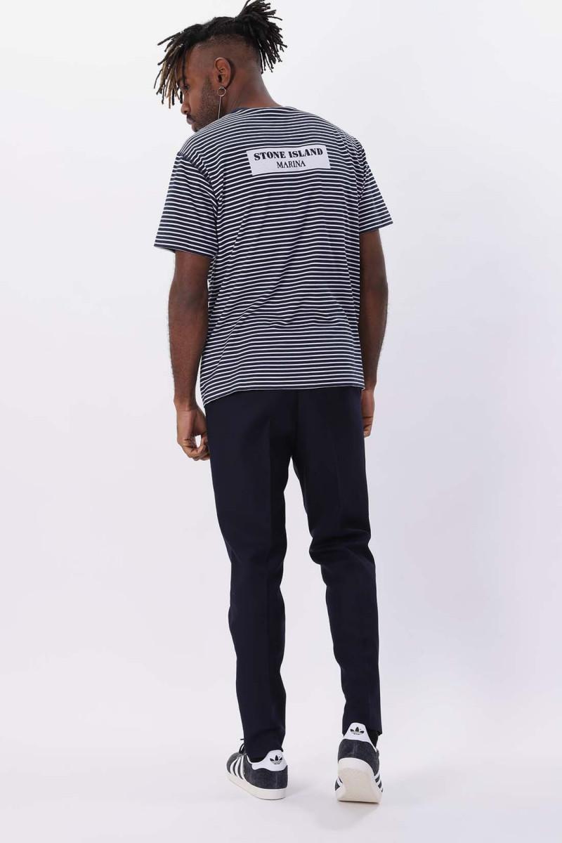 233x9 t shirt v0028 Bleu marine