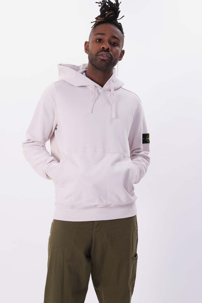 62851 hooded sweat shirt v0097 Stucco