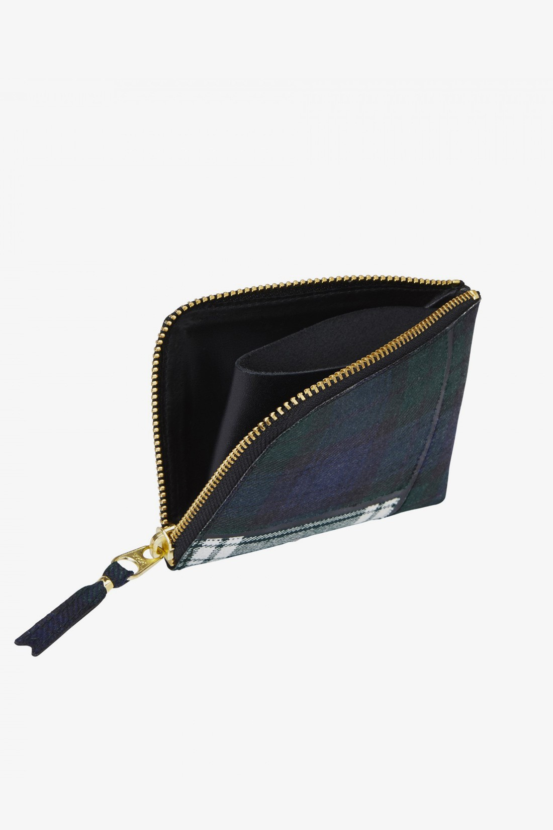 CDG WALLETS / Cdg wallet tartan sa3100tp Green