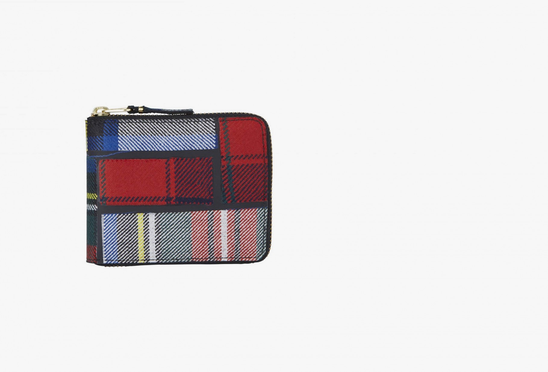 CDG WALLETS / Cdg wallet tartan sa7100tp Red