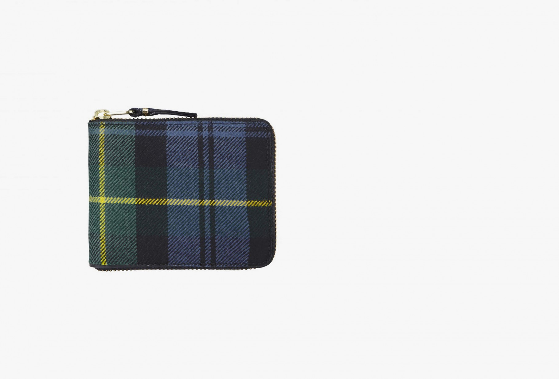 CDG WALLETS / Cdg wallet tartan sa7100tp Green